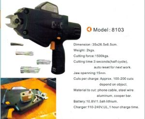 Power Steel Wire Cutter for Hard Steel Wire and Cable pictures & photos