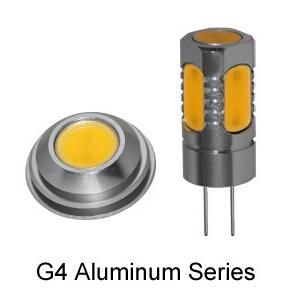 Alumiunm LED G4 5PCS COB LED 7.5W Auto Lamp pictures & photos