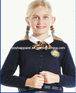 New Design School Uniform Black Sweater for Girls Sweater pictures & photos