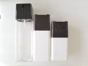 PETG Cosmetic Pump Bottle 100ml for Cosmetic Lotion Packaging Jj-027 pictures & photos