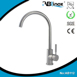 Stainless Steel Kitchen Sink Mixer Tap (AB112)