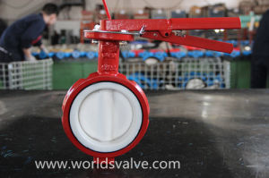 PTFE Lining Industrial Valve pictures & photos