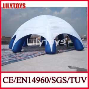 Hot Selling White Color Inflatable Advertising Tents Inflatable Camping Tent with Pillars (J-IT-15)