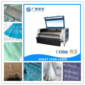 Guangzhou High Quality Genuine Leather Laser Cutting Machine pictures & photos