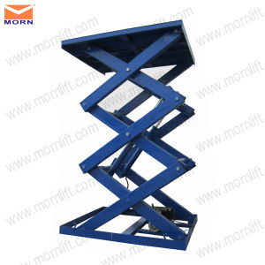 4.5m Fixed Scissor Lift Table for Cargo pictures & photos