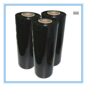 20mic Black Cast PE Stretch Film for Pallet Wrapping pictures & photos
