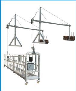 Zlp Series Aluminium End Stirrup Pin Type Plastering Man-Riding Platform pictures & photos