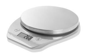 Stainless Steel Top Cover Electronic Kitchen Scale (BK714) pictures & photos