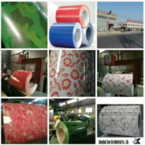 Nano Heat-Insulated PE Pattern PPGI Steel Coil & Sheet with PVC Film pictures & photos