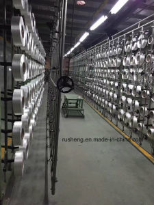 100% Polyester Yarn Optical White for Stain Fabric pictures & photos