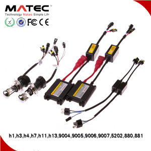 Top Automotive Accessory HID Conversion Kit 35W 55W 75W Canbus HID Kit H1 H3 H11 pictures & photos