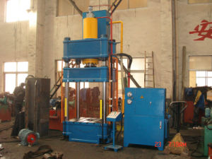 Four-Column Hydraulic Deep Drawing Press Machine pictures & photos