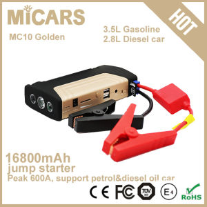 Emergency Car Jump Starter High Capacity Car Jump Starter Slim Car Power Bank