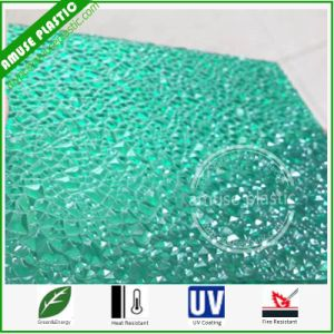 100% Lexan Virgin Decoration Material Polycarbonate Frosted Abrasive Embossed Sheets pictures & photos