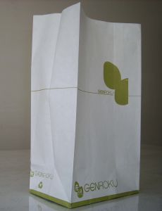 Top Quality Paper Food Bag with Logo Print pictures & photos