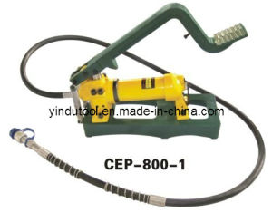 700 Bar European Design Hydraulic Foot Pump (CFP-800-1) pictures & photos