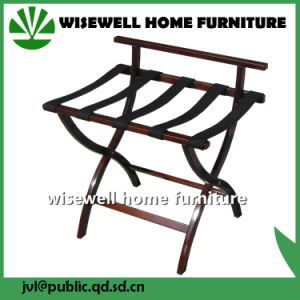 Birch Wood Foldable Luggage Rack for Hotel (W-BS-307) pictures & photos