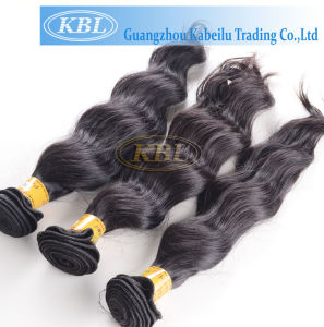 Peruvian Hair Machine Made Weft (KBL-pH-LW) pictures & photos