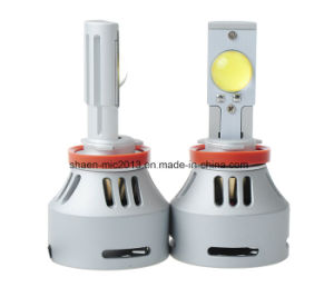 CREE LED Car Headlight 6000k 12V 72W 6400lm pictures & photos