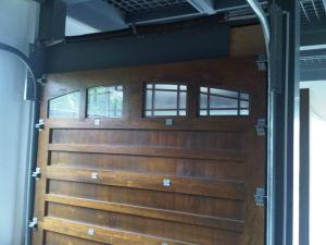 Fir Wood Automatic Sectional Garage Door and Door Opener pictures & photos