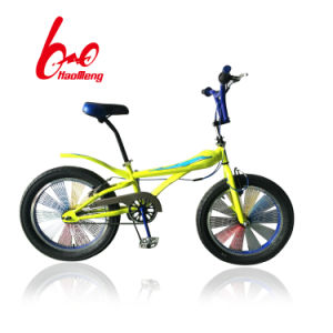 20 Unfolding BMX Bicycle with Colorful Wheel pictures & photos