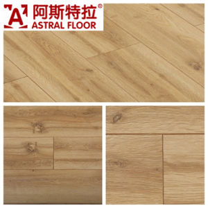 Silk Surface Oak New Style Laminate Flooring pictures & photos