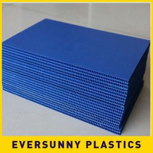 China Manufacture Colored PP Cheap Hollow Sheet pictures & photos