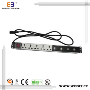 Multi Series of PDU with USB Outlets pictures & photos