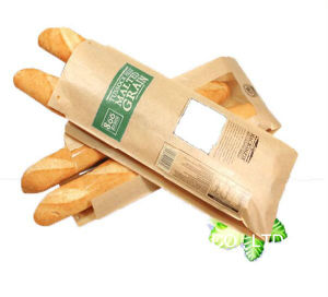 Baguette Bakery Bread Paper Bag Brown Paper Bag pictures & photos