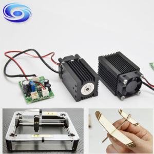 High Power 450nm 1.6W 1600MW Laser Module for Cutting Engraving pictures & photos