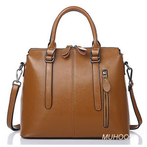 Fashion Ladies Leather Handbags for Business (MH-6066) pictures & photos
