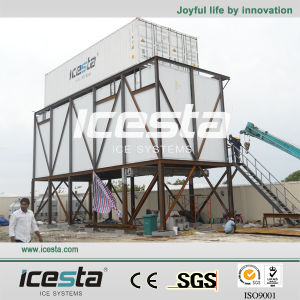 Icesta Large Capacity Containerized Ice Makers 20 Ton Per Day pictures & photos
