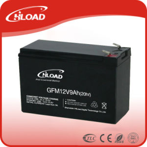12V 9ah Sealed Lead Acid UPS Battery with CE Approve pictures & photos