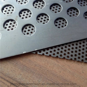 "3003 Aluminum Perforated Sheet 1/16"" X 12"" X 12"" - 1/8 Holes (40% Open) pictures & photos"