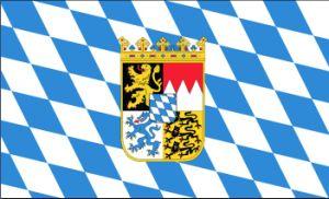 Bayern Wappen Flag, State Flag, Polyester Flag, National Flag