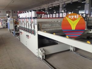 Wood Plastic Foam Board Production Machine-80/156 pictures & photos