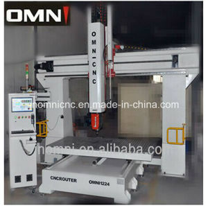 5 Axis CNC Router Machine for Mould Making with Ce/SGS