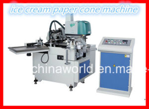 Automatic Paper Cone Machine for Ice Cream Cup Cw-220 pictures & photos