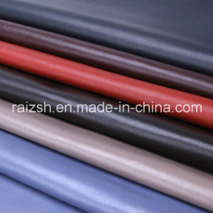Sheep Leather Skin Colorful Fashion Coat Fabric pictures & photos