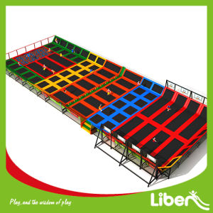 Outstanding Design Trampoline One-Step Service Indoor Trampoline with Dodge Ball