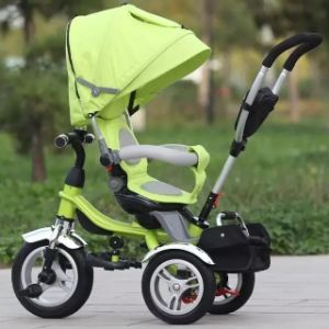Three Wheel Children Tricycle Baby Tricycle with Canopy pictures & photos