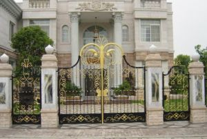 Garden Arch Wrought Iron Gate and Fence pictures & photos