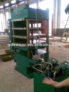 Rubber Ground Mat Making Machine From Waste Tyre Recycling pictures & photos