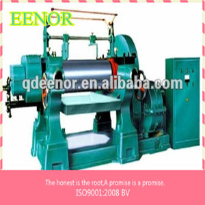 Patent Products Two Roll Open Mixing Mill with Stock Blender Made in China Rubber Mixer pictures & photos