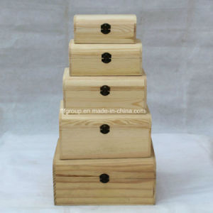 Natural Color Eco-Friendly Drawers Customized Paulownia Wooden Cabinet pictures & photos