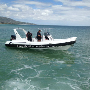 Liya 7.5m Hypalon Inflatable Rib Boat Military Rib Boat for Sale pictures & photos