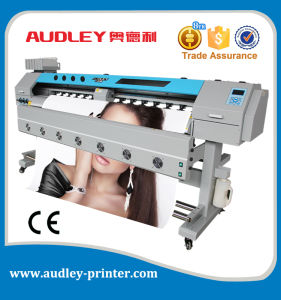 Good Price Flex Banner Printing Machine with CE, 1.85m, Double Dx10 Head pictures & photos