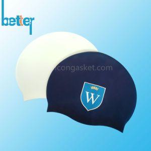 Custom Logo Silicone Swim Cap pictures & photos