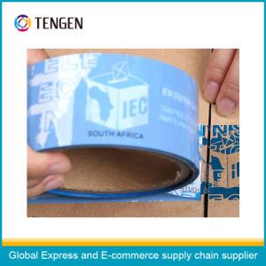 Custom Printing Self-Adhesive Anti-Fake Packing Tape pictures & photos
