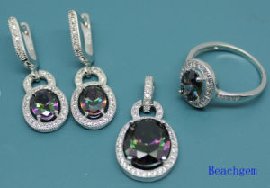 Fashion Jewellery Set with Mystic Cubic Zirconia (S3309) pictures & photos